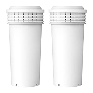 Aqua Crest AQK-42371240 Water Filter Cartridges Compatible with Tommee Tippee Prep System (Pack of 2)