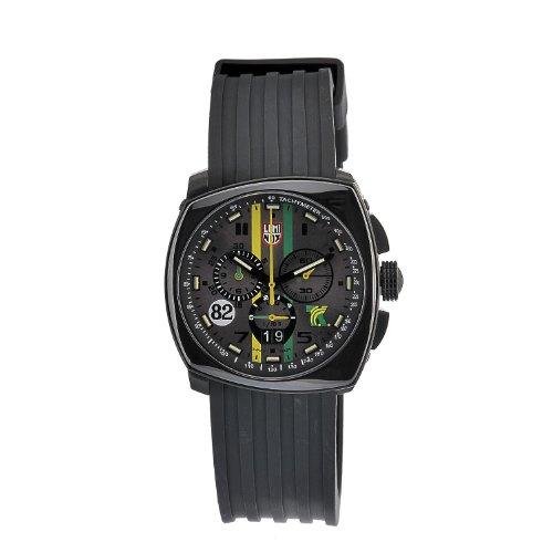 Luminox Men's 44mm Black Polyurethane Band Steel Case Anti Reflective Sapphire Quartz Grey Dial Watch 1141