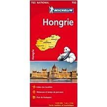 Carte NATIONAL Hongrie de Collectif Michelin ( 10 janvier 2012 )