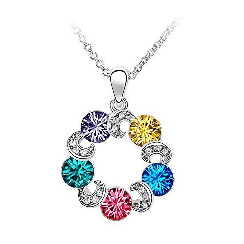collar-technicolor-meilanty-mujeres-mancha-de-color-colorido-5-kristal-con-45cm-de-cadena