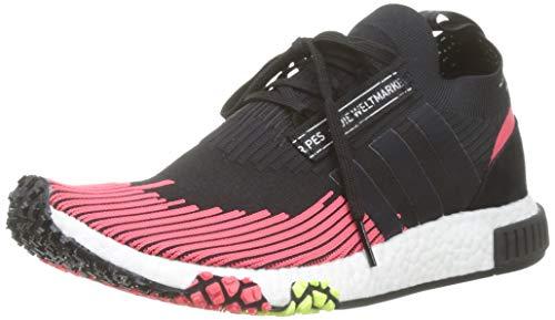 adidas Herren NMD_Racer Pk Gymnastikschuhe, Schwarz Core Black/Shock Red, 42 EU