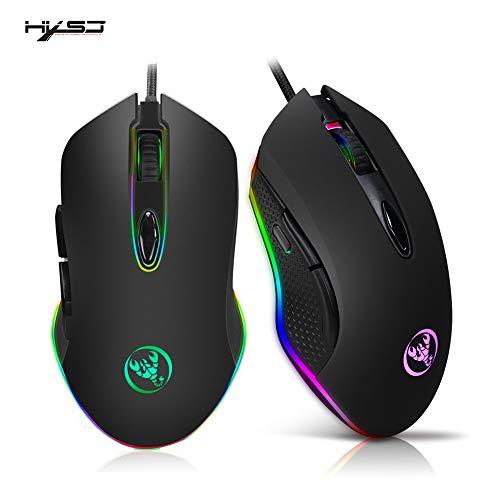 HXSJ juego del ratón con cable