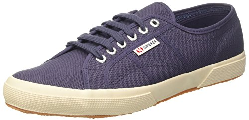 Superga Unisex-Erwachsene 2750 Cotu Classic Low-Top Blue Shadow