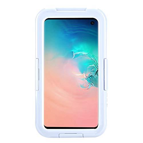 ASHATA 1,5 m Fallschutz-Handy-Fall IP68 wasserdicht und staubdicht Schutzhülle für Samsung Galaxy S-10e(weiß) S-handy-fall