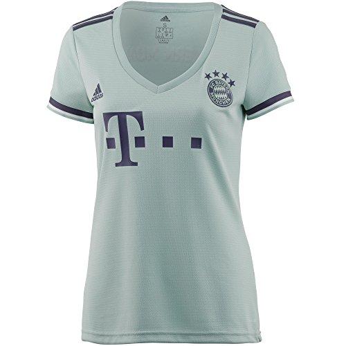 adidas FCB A JSY W Trikot 2a FC Bayern München Damen Verde(VerCEN/PURTRA/Blanco)
