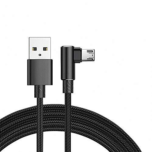 GH-Ghawk® Chargeur de Vivo Z3x, Câble 90 °câble de Chargement de Jeu USB,  synchronisation de la Vitesse et Chargement Rapide de l'Micro USB et Autres