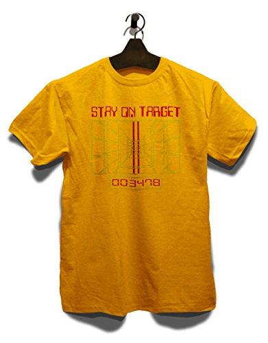 Stay On Target T-Shirt Gelb