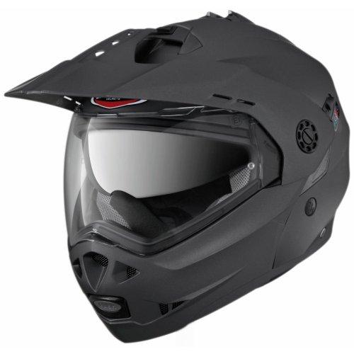 Caberg Tourmax - Casco abatible, color negro metalizado