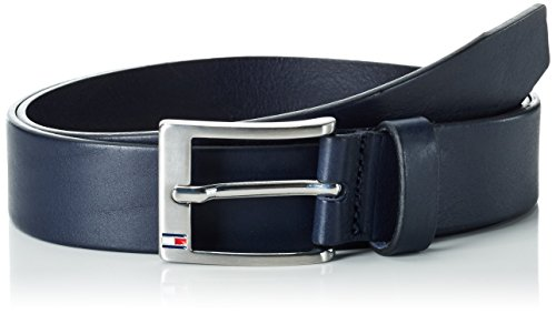 Tommy Hilfiger New Aly, Cintura Uomo, Nero (Midnight), 100 cm