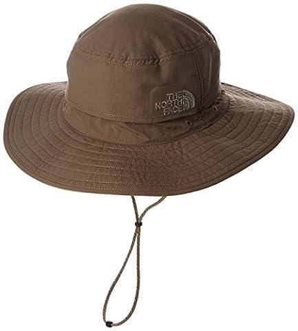 The North Face Horizon Breeze Brimmer Beanie Hat - Brown/Green/Weimaraner Brown/Mountain Moss, Small/Medium