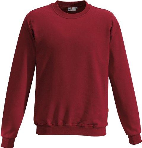 """HAKRO Sweatshirt """"Premium"""" - 471 - weinrot - Größe: L"""