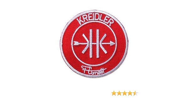 Patchmania Kreidler Florett Logo 9 0 Cm Aufnäher Bügelbild Patch Embroidered Patches Iron On Küche Haushalt