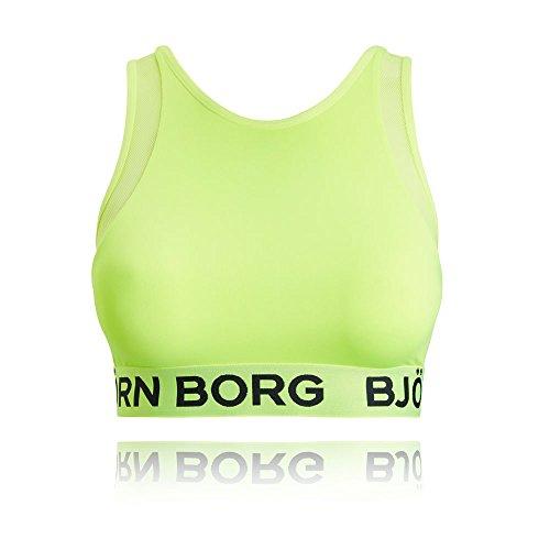Bjorn Borg Women's Seasonal Solid Sally Soft Top - AW17 Yellow