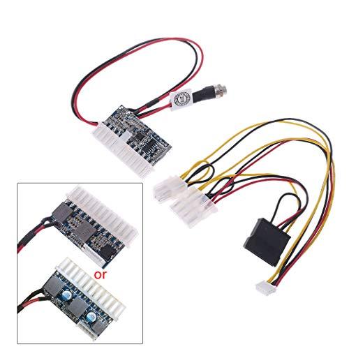 FXCO 24Pin Power Modul 160W DC 12V Pico Switch Netzteil Auto Auto Mini ITX Hochleistungsversorgungsmodul Power Modul