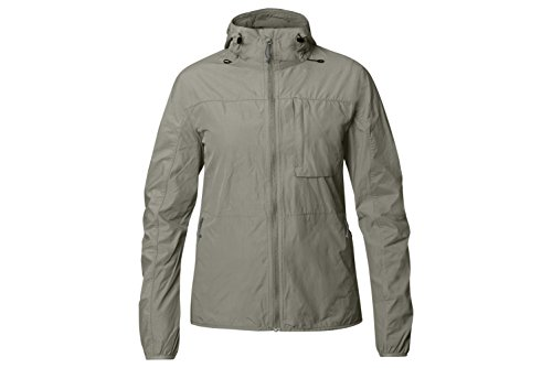 Fjällräven Damen High Coast Wind Jacket W Softshelljacke, Fog, S