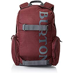 Burton Emphasis Pack Mochilas, Unisex Adulto, Rojo (Port Royal Slub), Talla Única
