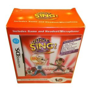 Just Sing! (Nintendo DS) With songs from Lady Gaga, Maroon 5, the Supremes and More by Young entertainment (Spiel Maroon)