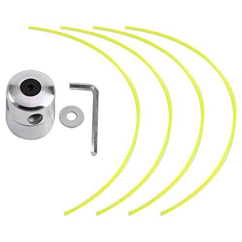 Fdit - Tête de débroussailleuse en aluminium à 4 fils pour débroussailleuse thermique