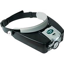 Lupa Diadema ajustable, 3 lentes y luz - Calidad garantizada.