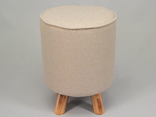 Simla u2013 sgabello pouf in tessuto e legno u2013 simla poltrone per anziani