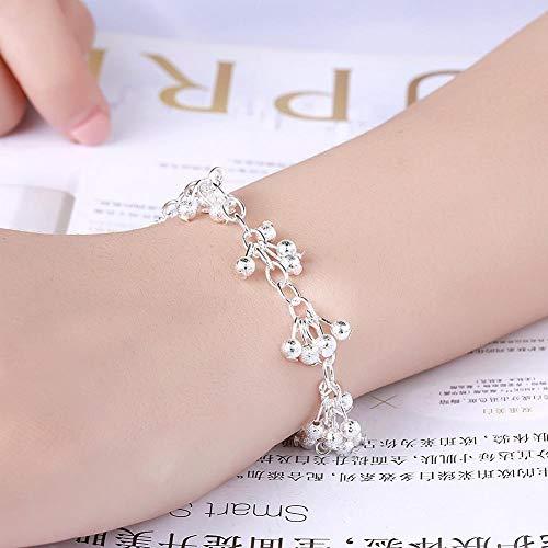 Imagen de zhouyf® pulseras fine jewelry 925 sterling silver bracelets women sand grapes beads bracelet for best friend gift alternativa