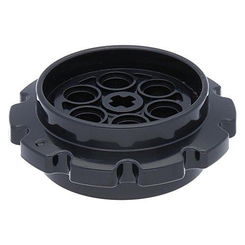 LEGO 5 x Technik Kettenrad groß Schwarz