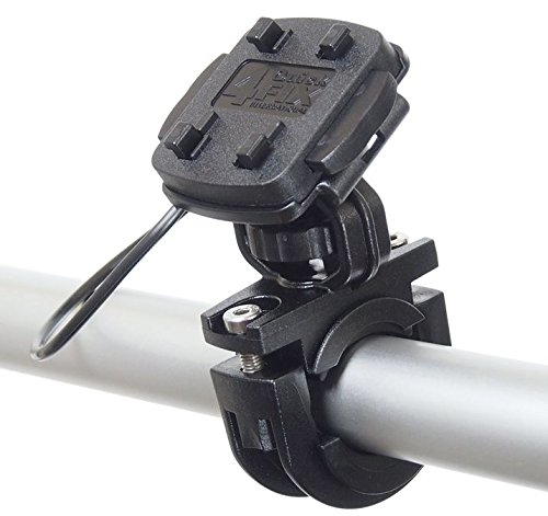 KRS - HF3+ Fahrrad Halterung / Fahrradhalter für Falk Tiger Geo, Teasi one , Teasi one 2 , Teasi Pro und SMAR.T Power (vibrationsfrei, Sicherungsgummi, schwarz, QuickFix-System, Made in Germany)