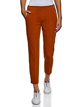 oodji Ultra Mujer Pantalones Aju