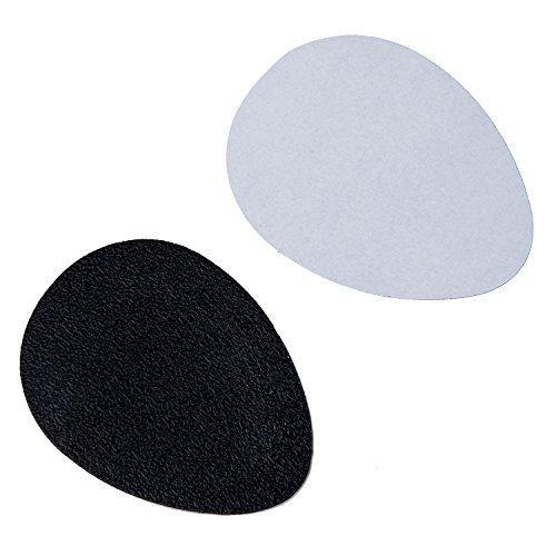 TOOGOO(R) Noir autocollant antiderapant de semelle pour les chaussures auto-adhesif en caoutchouc