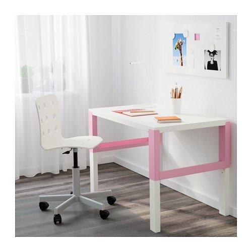 Pahl ikea scrivania per bambini dimensioni 96 x 58 cm rosa - Scrivania ikea bambini ...