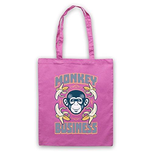 Monkey Business Funny borsa custodia Rosa
