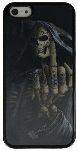 3D Handy Back Case Cover Skelett für Apple Iphone 5S Handy Tasche Schale Cover Schutz Hülle Bumper