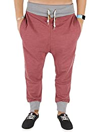 Shisha Bücks Pant Uni Jogginghose WineRed