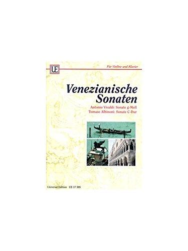Universal Edition Diverse – Sonata de Albinoni para violín y piano, partitura clásica, cuerda, violín, (idioma español no garantizado)