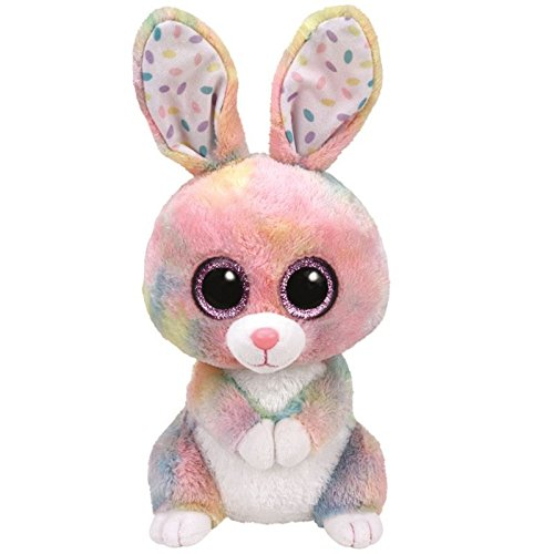 Preisvergleich Produktbild TY-Plüsch-Kaninchen 23cm Multicolor
