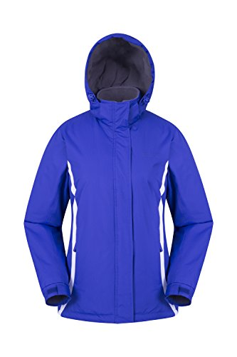 Mountain warehouse giacca sci donna antivento sport invernali snowboard moon viola scuro 52