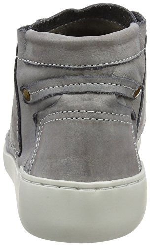 FLY London Tims241, Sneakers Hautes Femme Gris (Dk Grey 011)