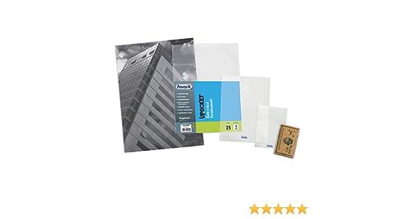 colore bianco Buste DIN B6 con chiusura adesiva 90/g//m/² 25 Umschl/äge bianco 12/x 18/cm