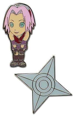 Naruto Shippuden Pin Set Sakura by Naruto