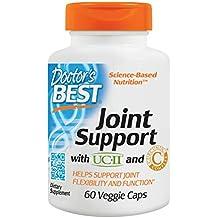 Doctors Best - flexión conjunta con complejo de curcumina C3 - 60 cápsulas vegetarianas ...