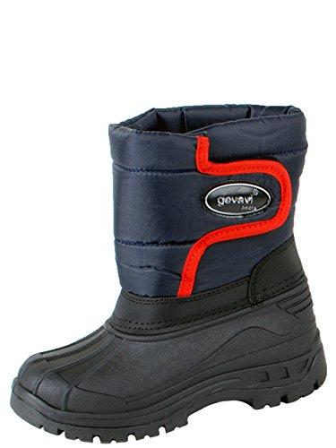 Gevavi Boots CW7404430 CW74 gefütterte Jungen/Herrenstiefel, 43, Blau