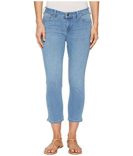 Liverpool Damen Milly Hugger Capri Shaping & Slimming 4-Wege Stretch Denim - Blau - 34 Hugger Fit Denim