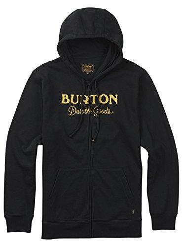 Burton Herren Durable Goods Fullzip Hoodie True Black