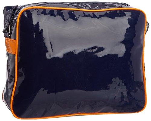 Le Temps des Cerises Rumba Fluo 3, Borsa a tracolla donna (Multicolore (Navy/Orange))
