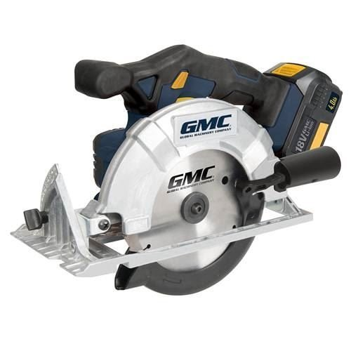 GMC GMC18CS 165 mm 18 V Cordless Circular Saw - Blue by GMC (Gmc Kreissäge)