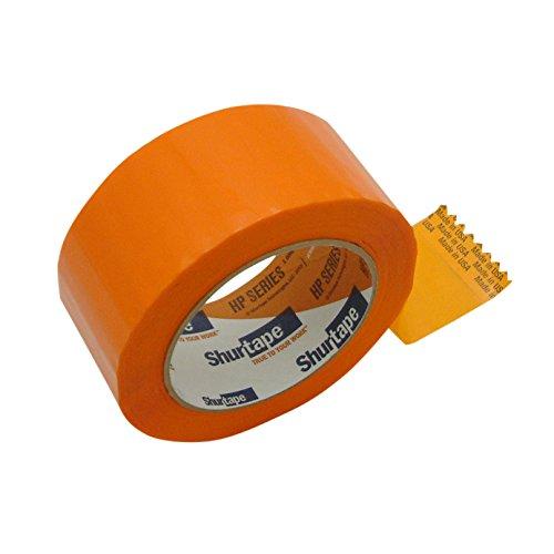 Shurtape hp-200C production-grade farbigen Verpackung Klebeband 2 in. x 110 yds. (48mm x 100m) Orange (2 in. x 110 yds.)