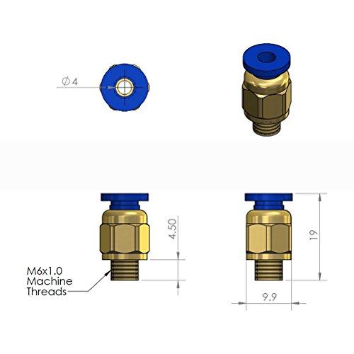 UEETEK-PC4-M6-Raccord-pneumatique-droit-pour-4mm-OD-RepRap-Imprimante-3D-Bowden-Tubing-ou-autre-utilisation-Pack-de-5-PCS