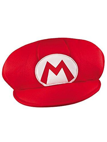 ��Mütze Mario, Rot, Einheitsgröße (Große Schaumstoff-hüte)