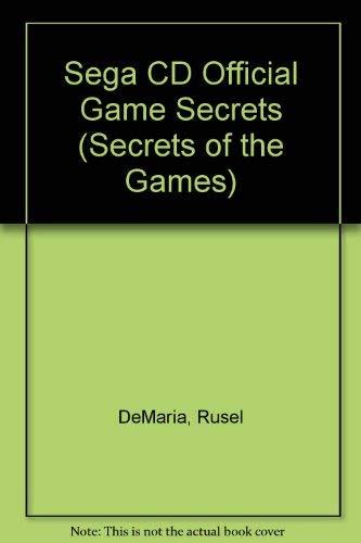 Sega Cd Official Game Secrets