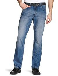 b5ac1ba5 Lee Men's Brooklyn Straight One Wash Jeans
